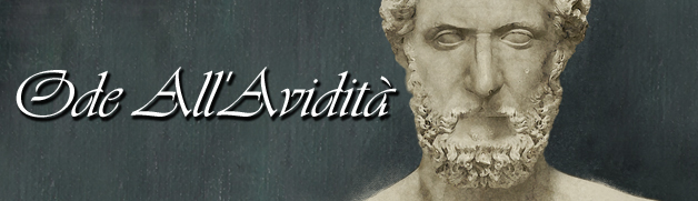 Ode All'Avidita banner